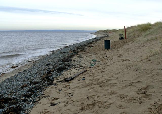 Talacre beach out of season