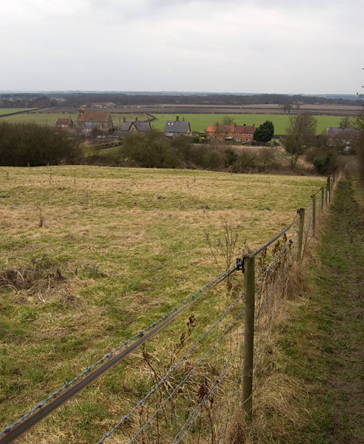 North Cliffe from the east
