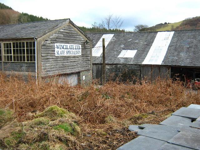 Wincillate slate sheds
