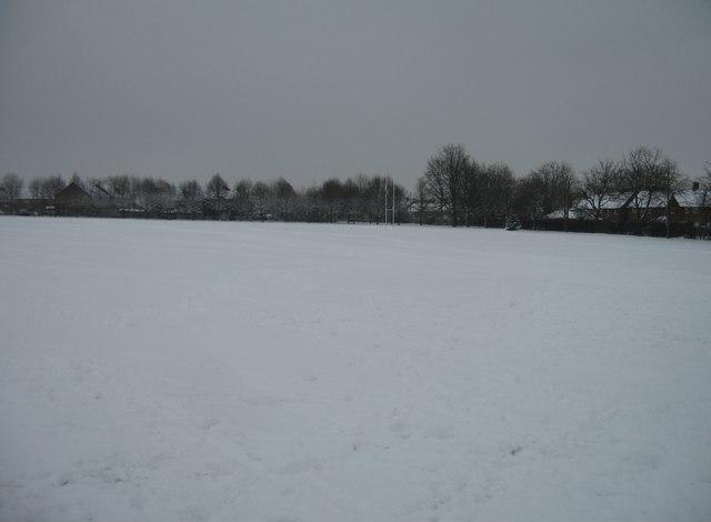 Vyne School playing fields