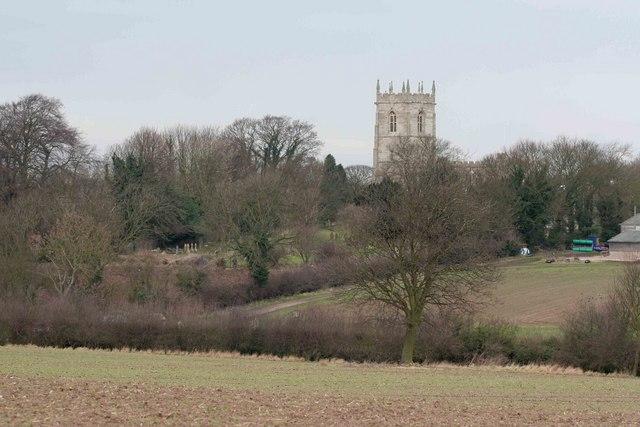 Church Tower through the trees