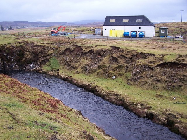 Osdale River and water treatment works