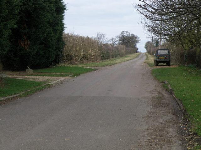 Farm Road to Park Farm