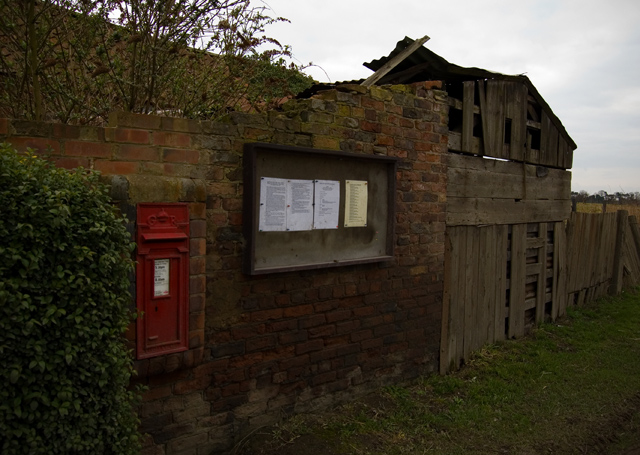 North Cliffe post box