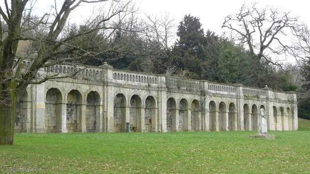 Terrace, Crystal Palace Park
