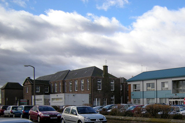View of Arbroath Infirmary