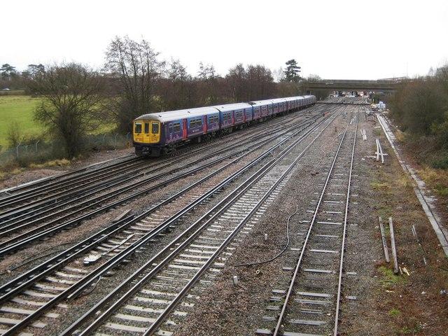 Gatwick: Main London to Brighton railway line