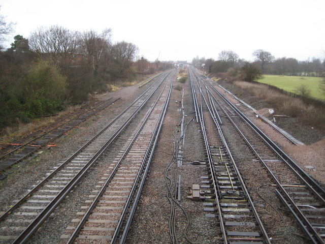 Gatwick: Main London to Brighton railway line