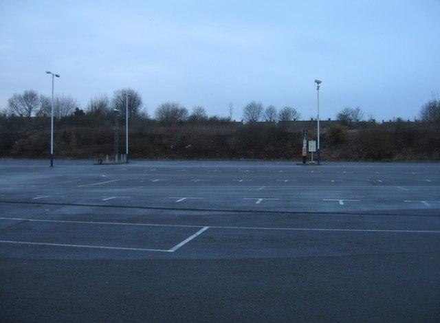 North Yard - station car park