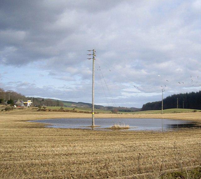 Winter dew-pond