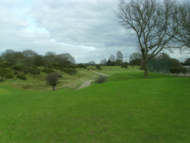 Diss Golf Club - 13th Tee.