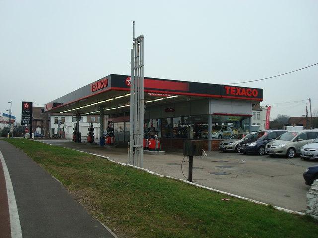 Petrol Station and Car Dealer, Swanley, Kent