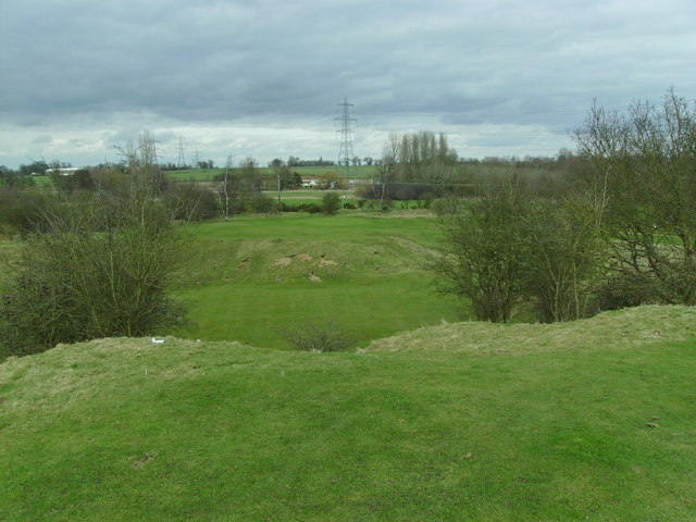 Diss Golf Club - 13th Green.