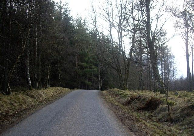 Public road by Bridgend