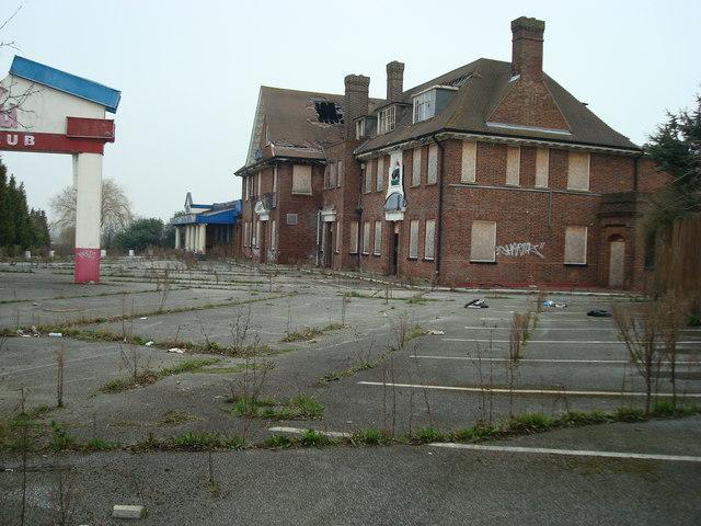 Former nightclub, Swanley, Kent.