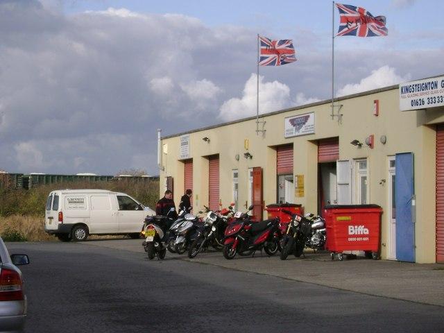 Motorcycle dealer, Forde Road, Newton Abbot