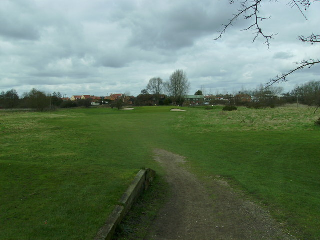 Diss Golf Club - 4th Hole from the right of the tee box.