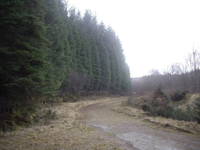 A track to the A93 west