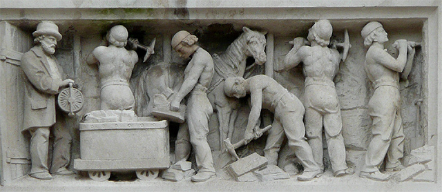 Lloyds Bank in Queen Square (detail 5), Wolverhampton