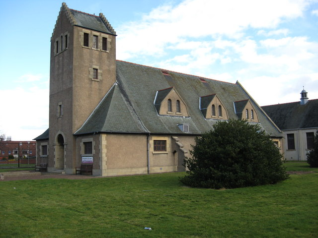 The church at Newtongrange