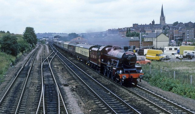 Steam through Chesterfield