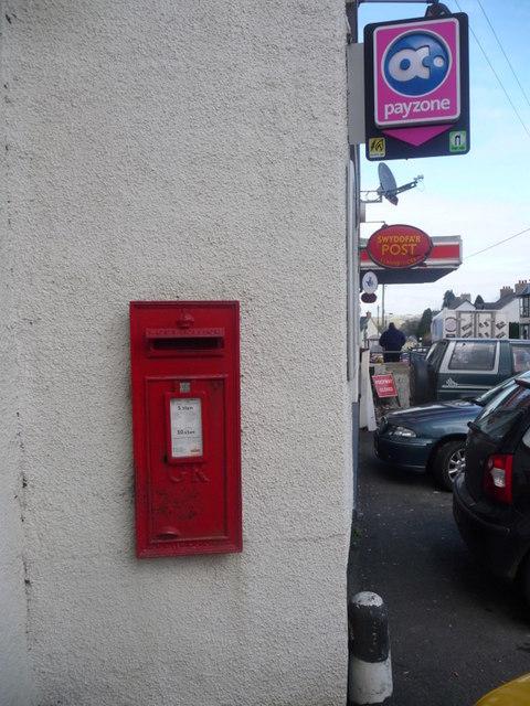 Llanybydder: postbox № SA41 191