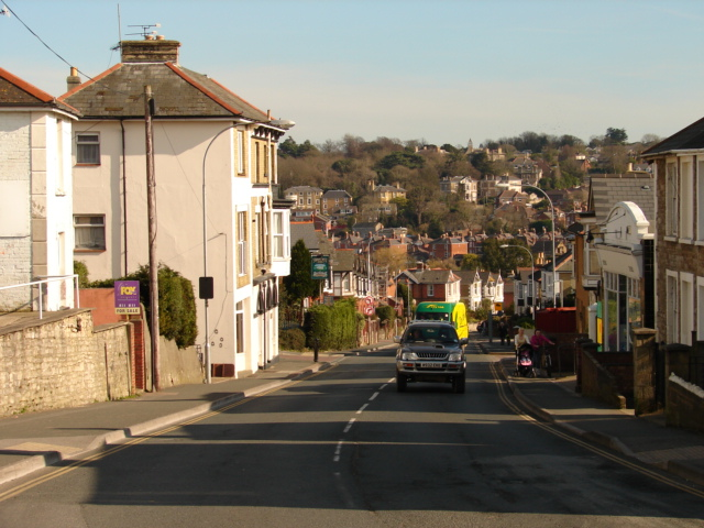 Looking down St John's Road