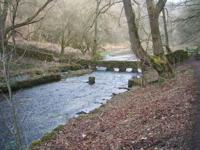 River Bradford in late winter