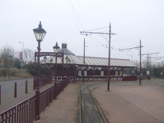 Seaton Electric Tramway terminus