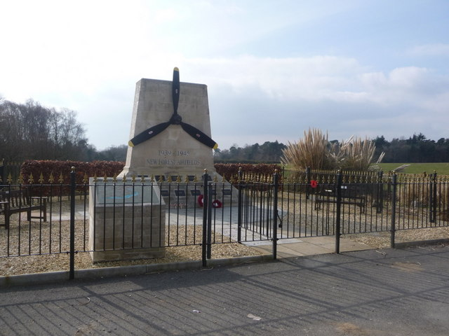 Holmsley South: New Forest Airfields memorial