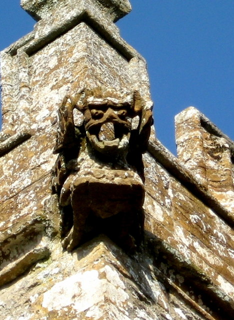Gargoyle - Church of St Peter Chetnole