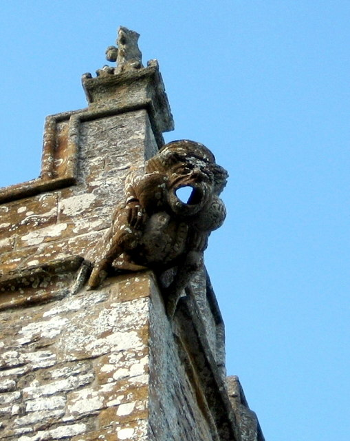 Another Gargoyle - Church of St Peter Chetnole