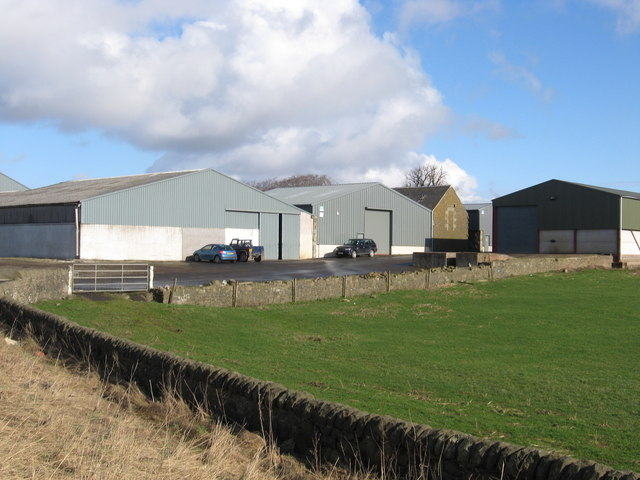 Buildings at Bonnington Mains Farm