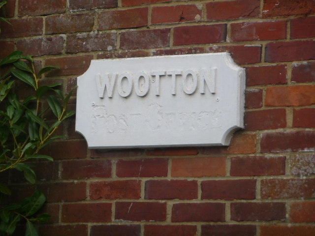 Wootton: old post office sign