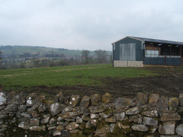 Millfield Farm, view towards Pommy