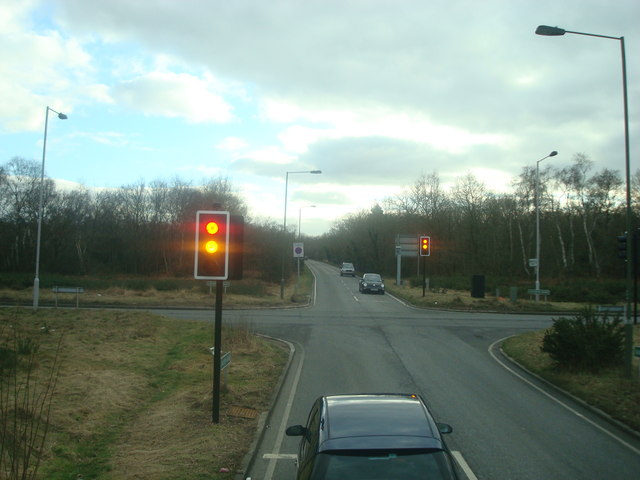West Common Road, junction with Croydon Road, Hayes, Kent