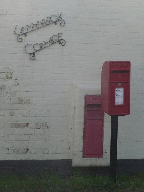 Shirley: postbox № BH23 30