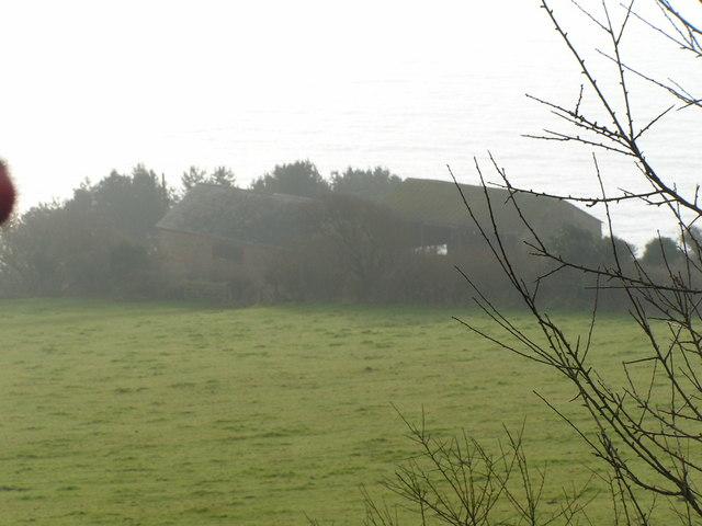 Westhay Farm from the coastal path
