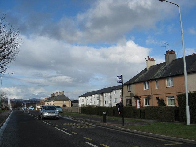 Castlelandhill Road in Rosyth