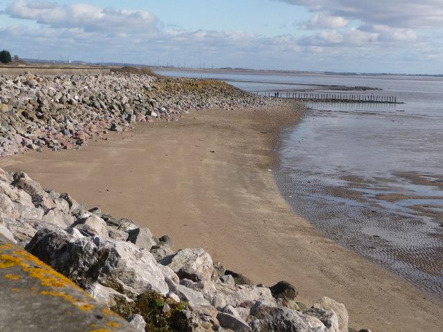 St. Brides Wentlooge: a beachy bit of shore