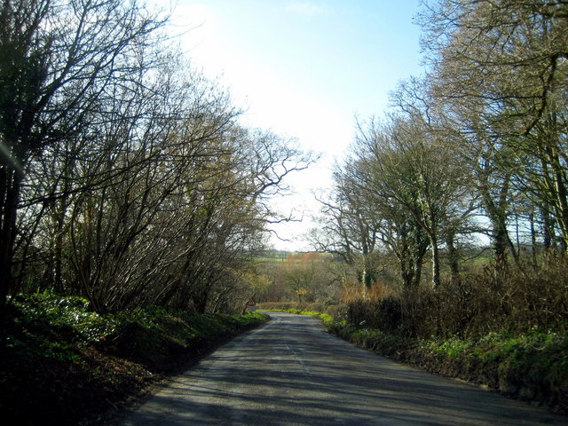 The road from Ryme to the A37