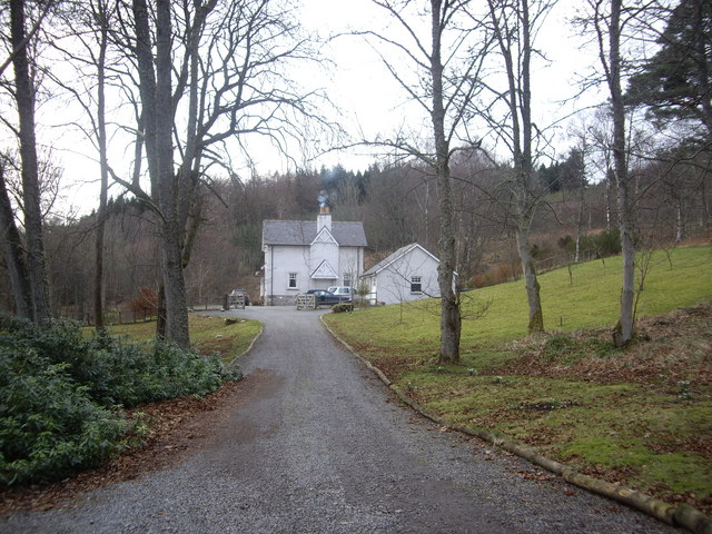 Access to Trustach Cottage