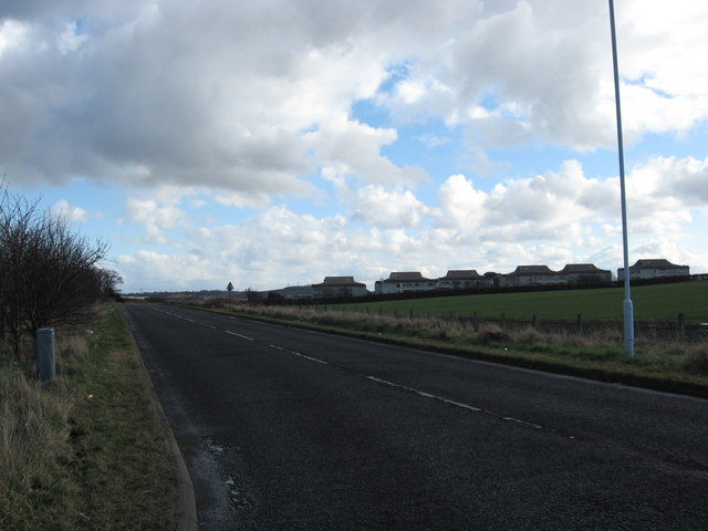 The Hilton Road near Rosyth
