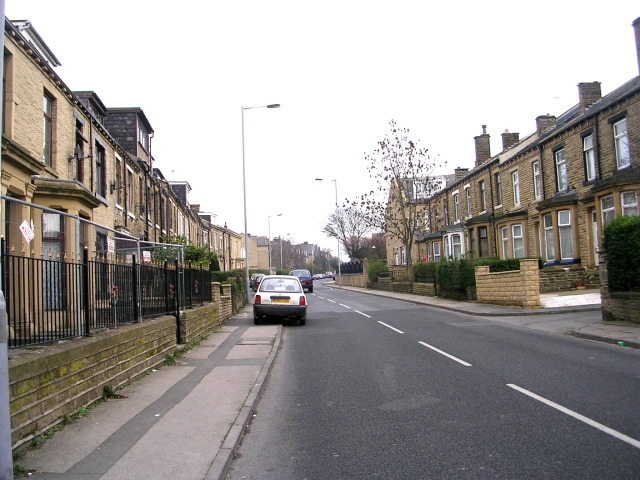Pollard Lane - viewed from Undercliffe Old Road