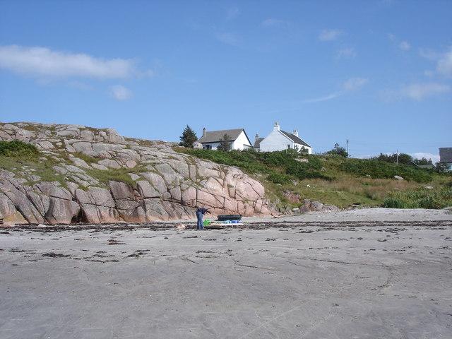 Fionnphort beach