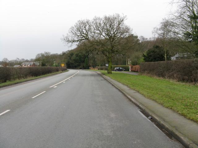 Mereside Road, near Bucklow Hill