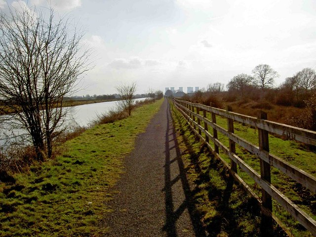 Heading south on the Trans Pennine Trail