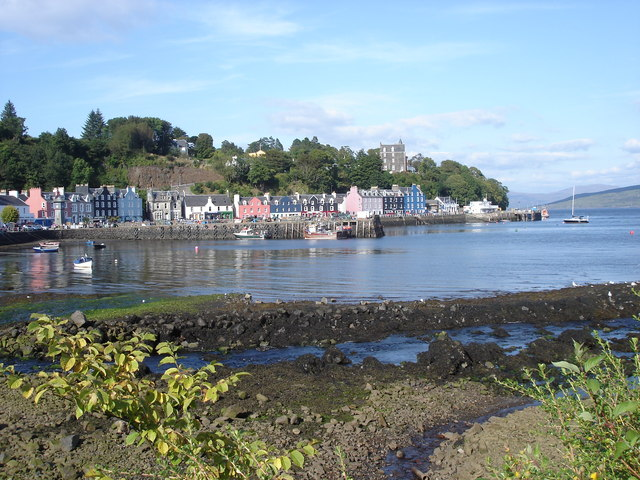 Tobermory - seafront