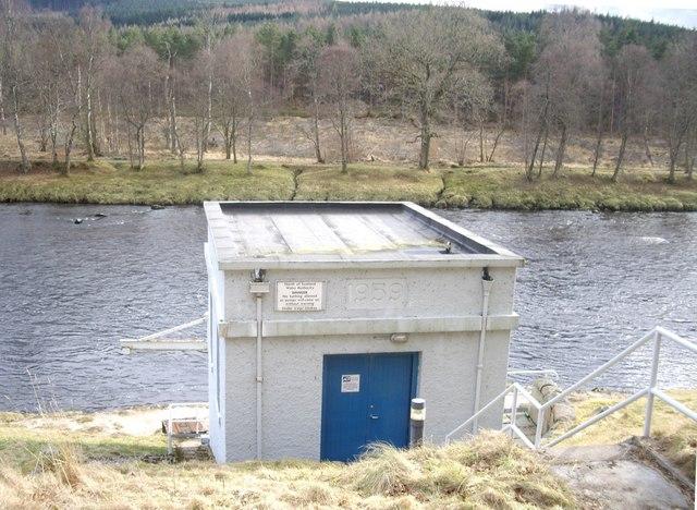 Water intake station.