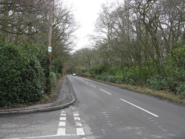 Birkenheath Lane Junction,  Ashley Road, Tatton